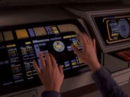 Maquis fighter console interface