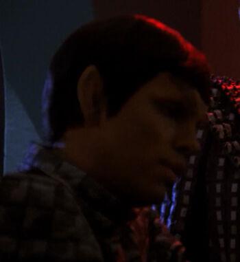 ...as a Romulan officer