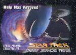 Star Trek Deep Space Nine - Series Premiere Card 2