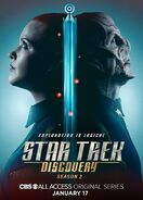 Star Trek Discovery Season 2 Sylvia Tilly and Saru poster