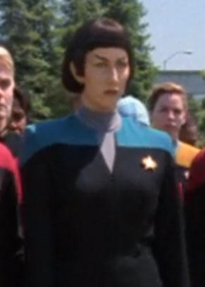 ... as a Vulcan Starfleet officer