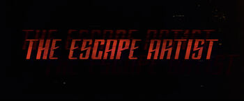 The Escape Artist title card