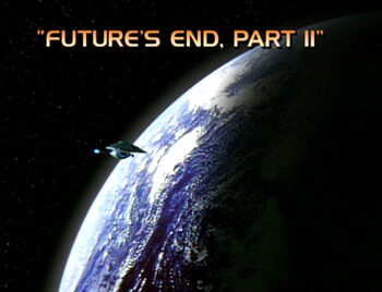 Future's End, Part II title card