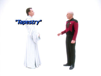 Tapestry title card