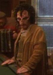...as a alien bar patron