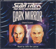 Dark Mirror audiobook cover, CD edition