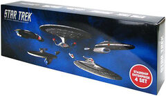 Eaglemoss Enterprise NX-TOS-A-E 4-pack