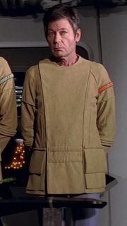 McCoy in Feldjacke