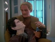 Odo and Weyoun 6