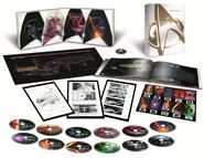 Star Trek I-X Limited Collector's Edition Blu-ray contents