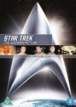 Star Trek The Motion Picture 2010 DVD cover Region 2
