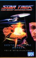 VHS-Cover TNG Gestern, Heute, Morgen