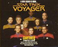 Caretaker audiobook, CD cover