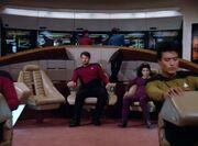 Enterprise unter der Kontrolle von Moriarty