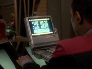 Sisko studiert Prophezeiungen