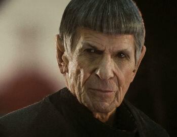 "<a href=""/wiki/Ambassador"" title=""Ambassador"">Ambassador</a> Spock in 2258, Alternate reality"