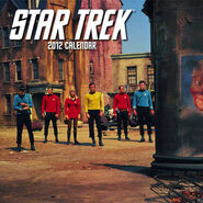 Star Trek Calendar 2012 cover