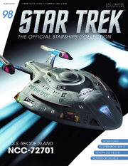 Star Trek Official Starships Collection issue 98