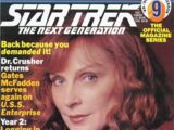 The Official Star Trek: The Next Generation Magazine issue 9