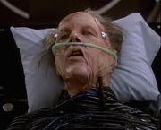 Daniels (Crewman), dying
