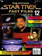 Star Trek Fact Files Part 12 cover
