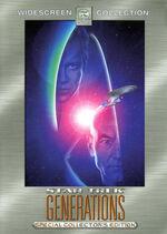 Star Trek Generations Special Edition DVD cover (Region 1)