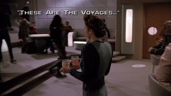 These Are the Voyages... title card