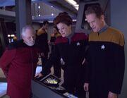 Carey neu an Bord der Voyager