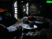 O'Brien in seinem Quartier auf Deep Space 9