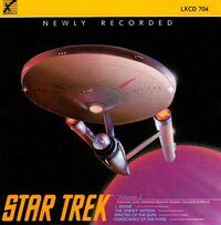 Star Trek - Symphonic Suites volume 2 cover