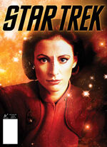 Star Trek Magazine US issue 55 PX cover