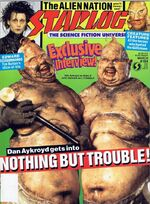Starlog issue 164 cover