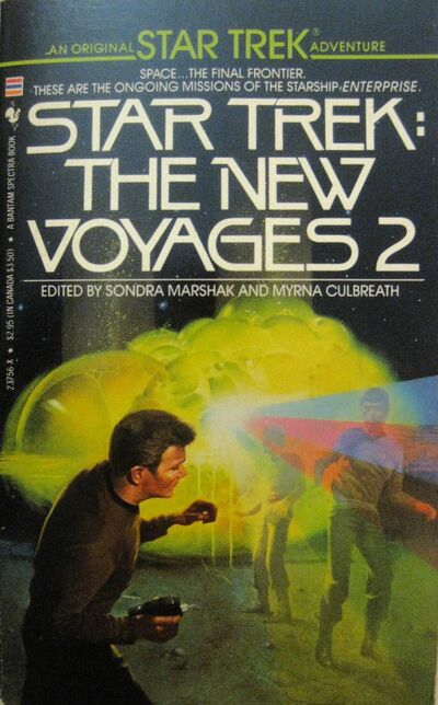 The New Voyages 2 (Bantam Cover 2)