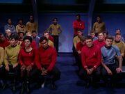 Trauerfeier von Captain Kirk
