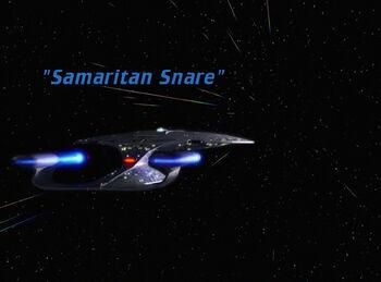 Samaritan Snare title card