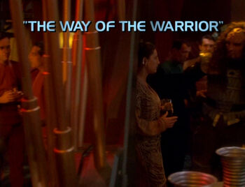 The Way of the Warrior title card