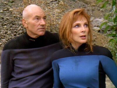 Crusher und Picard