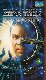 DS9 vol 21 UK VHS cover