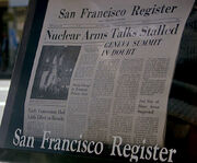 San Francisco Register, The Voyage Home