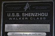 Shenzhou Plaque