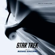 Star Trek (soundtrack) cover