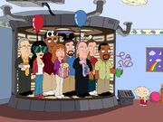 The Next Generation Cast on Family Guy