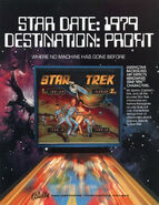 Bally Star Trek pinball ad