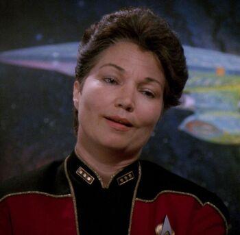 ...as Fleet Admiral Brackett