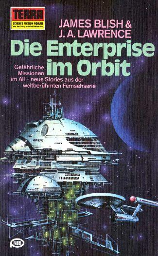 Die Enterprise im Orbit