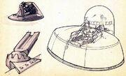 K't'inga class bridge design sketches by Andrew Probert
