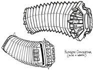 Klingon concertina sketch