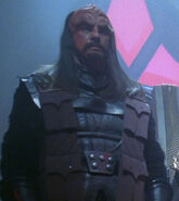 Klingon high council member 10, 2366