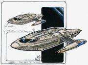 Sovereign class Captain's Yacht Cousteau design concepts by John Eaves