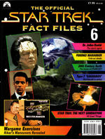 Star Trek Fact Files Part 6 cover